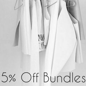 Other - 5% OFF 2 or more items from this closet!!